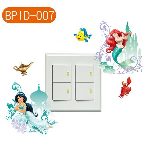BPID007 迪士尼公主 迷你隨意貼 小美人魚