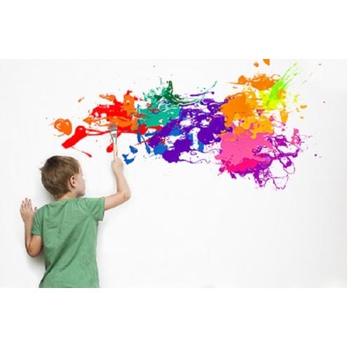 親子防髒壁貼