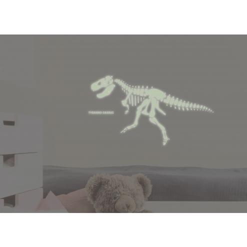 QI052 恐龍世界夜光壁貼-暴龍