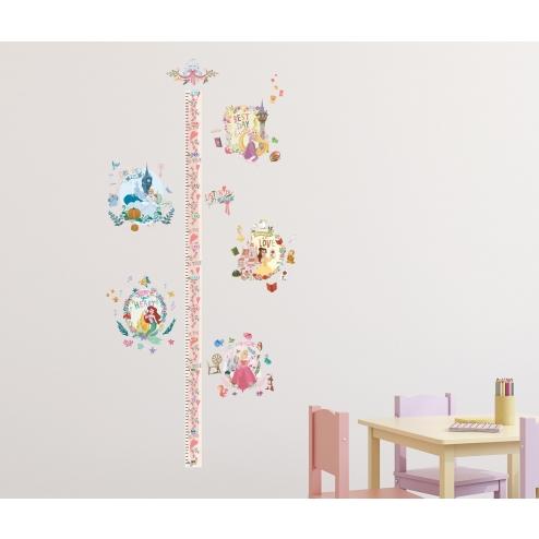 HID091 迪士尼公主系列身高壁貼