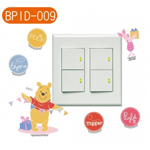 BID009迪士尼小熊維尼-開關貼
